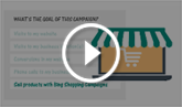 Create a Bing Ads campaign