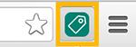 Icona di UET Tag Helper nella barra di Chrome