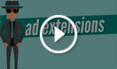 Obtenha mais cliques adicionando extensões de anúncio a seus anúncios!