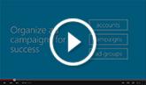 Compreendendo a estrutura de uma conta do Bing Ads