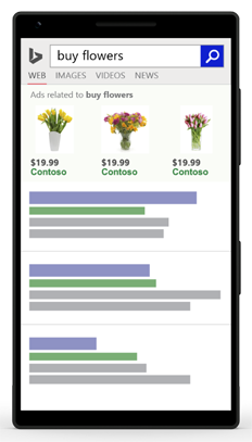 Exemple d'annonce pour mobile